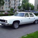 Chevrolet BelAir 1974 Lowrider - nasz democar